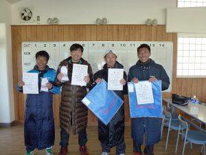 第43回福島県ダブルステニス選手権大会35歳男子ダブルス入賞者