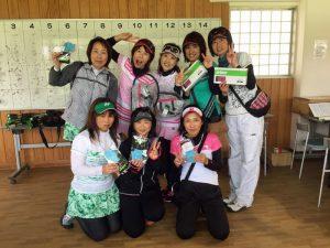 Princeレディーステニストーナメント2017Aクラス入賞者