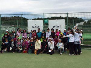 Princeレディーステニストーナメント2017参加者