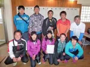 第38回福島県都市対抗テニス大会1位福島市
