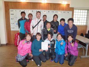 第38回福島県都市対抗テニス大会3位いわき市