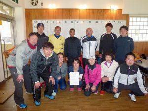 第38回福島県都市対抗テニス大会2位郡山市