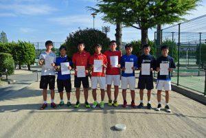 第34回福島県春季ジュニアテニス選手権大会U16ダブルス男子入賞者