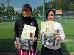 第59回オノヤ杯福島県春季ダブルステニス選手権大会一般女子優勝者