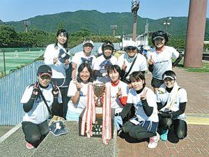 第36回FCT若松杯福島県女子テニス地区対抗戦優勝チーム