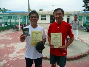 第8回福島オープンベテランテニス選手権大会男子シングルス55歳以上入賞者