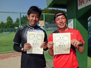 第60回オノヤ杯兼福島県春季ダブルステニス選手権大会一般男子優勝