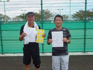第41回福島県秋季ダブルステニス選手権大会50歳以上男子ダブルス入賞者