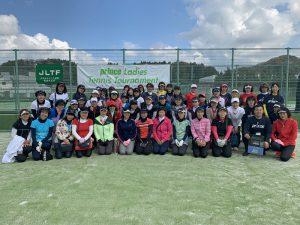 Princeレディーステニストーナメント2019参加者集合写真
