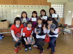 Princeレディーステニストーナメント2019Bクラス入賞者