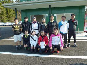 第40回福島県都市対抗テニス大会結果第二位福島市