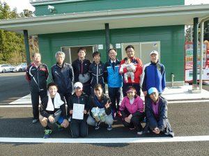 第40回福島県都市対抗テニス大会結果第三位伊達市