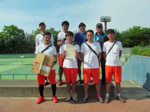 第41回福島県実業団対抗テニス大会優勝