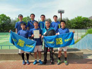 第41回福島県実業団対抗テニス大会準優勝
