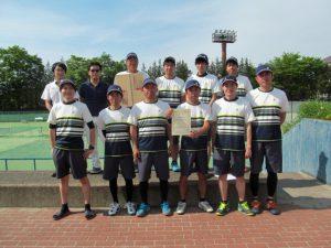 第41回福島県実業団対抗テニス大会準3位