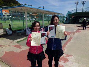 第46回福島県テニス選手権大会一般女子ダブルス優勝