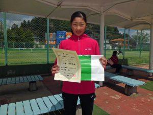 第46回福島県テニス選手権大会一般女子シングルス優勝