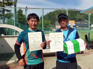 第46回福島県テニス選手権大会35歳以上男子ダブルス優勝