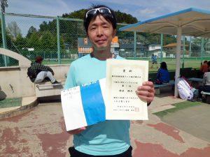 第46回福島県テニス選手権大会35歳以上男子シングルス優勝