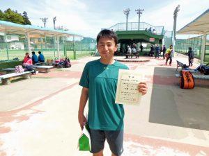 第46回福島県テニス選手権大会40歳以上男子シングルス優勝