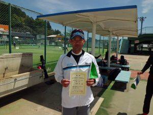 第46回福島県テニス選手権大会45歳以上男子シングルス優勝