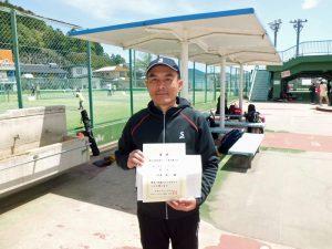 第46回福島県テニス選手権大会50歳以上男子シングルス優勝