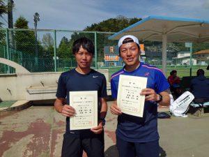 第46回福島県テニス選手権大会一般男子ダブルス優勝