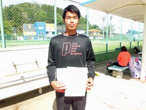 第46回福島県テニス選手権大会一般男子シングルス優勝