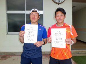 第61回オノヤ杯兼福島県春季ダブルステニス選手権大会一般男子ダブルス優勝