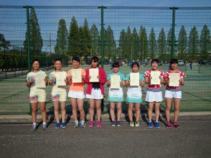 第36回福島県春季ジュニアテニス選手権大会U16女子ダブルス入賞者