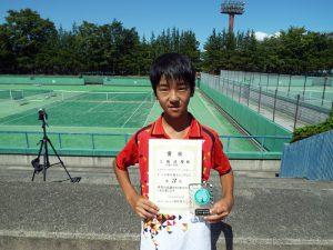 第33回福島県秋季小学生テニス選手権大会男子3位