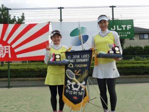 第41回全国レディーステニス福島県予選大会優勝
