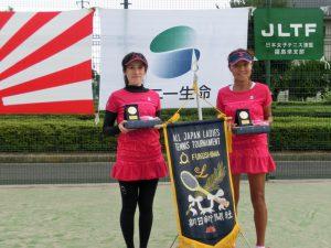 第41回全国レディーステニス福島県予選大会3位
