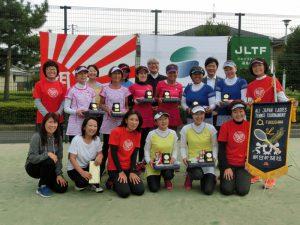 第41回全国レディーステニス福島県予選大会参加者