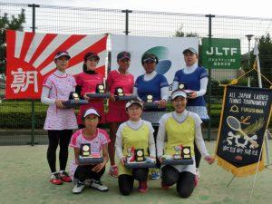 第41回全国レディーステニス福島県予選大会入賞者