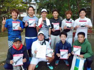 第61回福島県クラブ対抗テニス大会男子優勝チーム