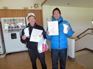 第46回福島県ダブルステニス選手権大会35歳男子の部入賞者2