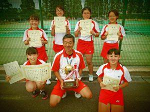 2020福島県中学生テニス選手権大会男子女子優勝