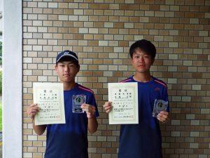 2020福島県中学生テニス選手権大会男子ダブルス4位