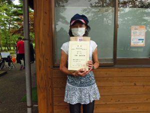 第41回中尾杯福島県シングルステニス選手権一般女子シングルス優勝
