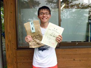 第41回中尾杯福島県シングルステニス選手権男子シングルス優勝