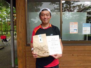 第41回中尾杯福島県シングルステニス選手権35歳男子シングルス優勝