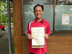 第41回中尾杯福島県シングルステニス選手権55歳男子シングルス優勝