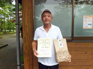 第41回中尾杯福島県シングルステニス選手権65歳男子シングルス優勝