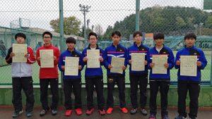 第38回福島県春季ジュニアダブルステニス選手権大会U18の部男子入賞者