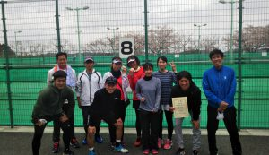 第42回福島県都市対抗テニス大会優勝
