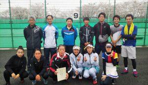 第42回福島県都市対抗テニス大会3位