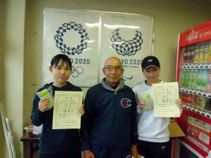 第63回オノヤ杯福島県春季ダブルステニス選手家大会一般女子ダブルス優勝