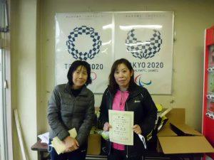 第63回オノヤ杯福島県春季ダブルステニス選手家大会45歳以上男子ダブルス優勝