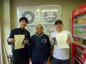 第63回オノヤ杯福島県春季ダブルステニス選手家大会一般男子ダブルス優勝